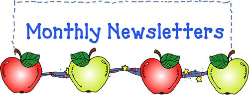 Monthly Newsletters in decorative image