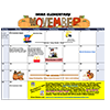 Picture of November Calendar