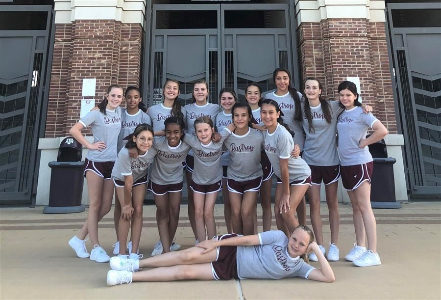 BMS Cheer at UCA Camp in College Station, TX