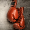 picture of red boxing gloves