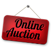 Online Auction sign