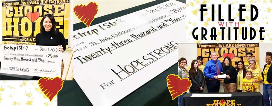 HOPE STRONG CHECK