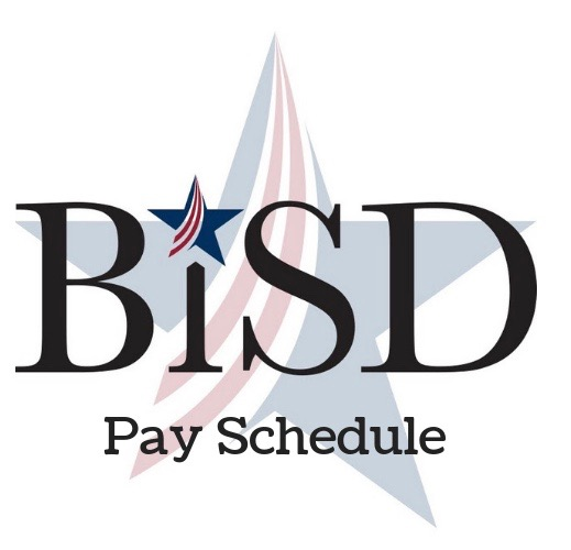 BISD Pay Schedule, opens in a new window