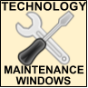 Technology Maintenance Windows, opens in a new window