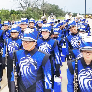 CCHS Band SWEEPS First Contest!