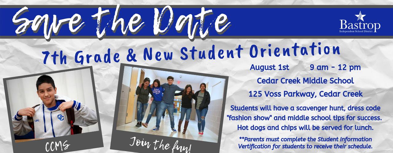 Cedar Creek Middle School / Homepage